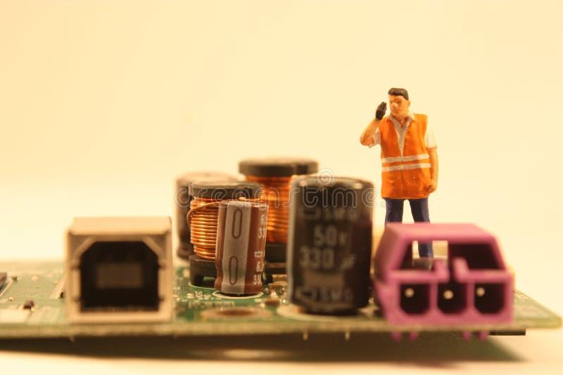 电机工程师 免版税库存照片