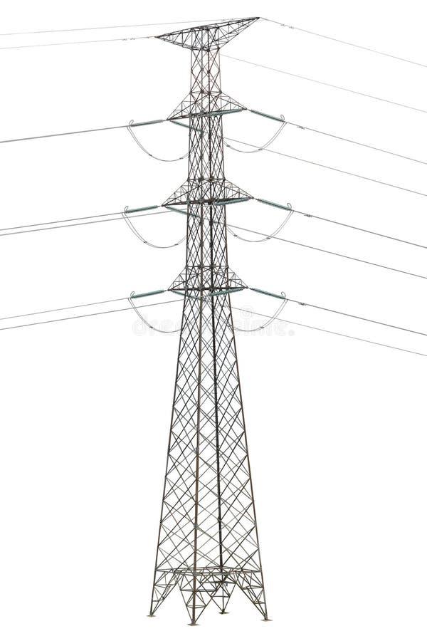 Download 电查出的塔 库存例证. 插画 包括有 危险, 工程, 能源, 行业, 电压, 空白, 用品, 查出, 使充电 - 15686577