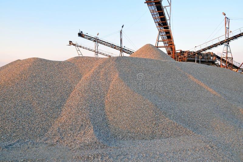 电梯和沙子 库存照片