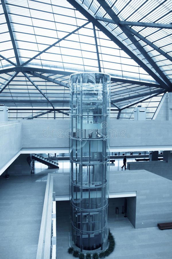 电梯大厅 图库摄影