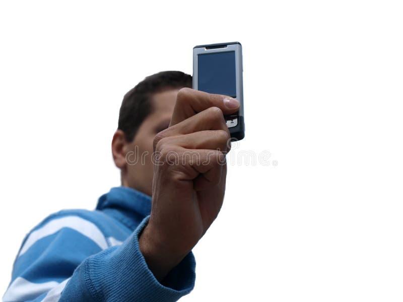 电池人电话丝毫 库存照片