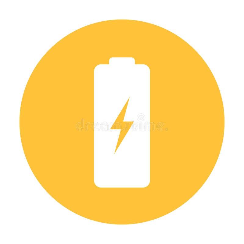 电池传染媒介象 库存例证