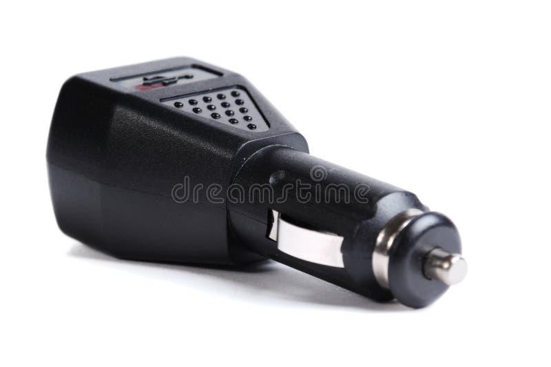 电池充电器电话 图库摄影