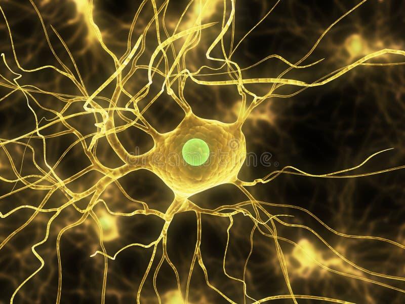 电池神经 向量例证