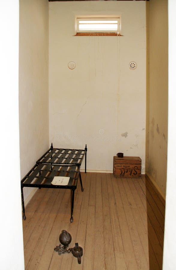 电池证明有罪监狱 图库摄影