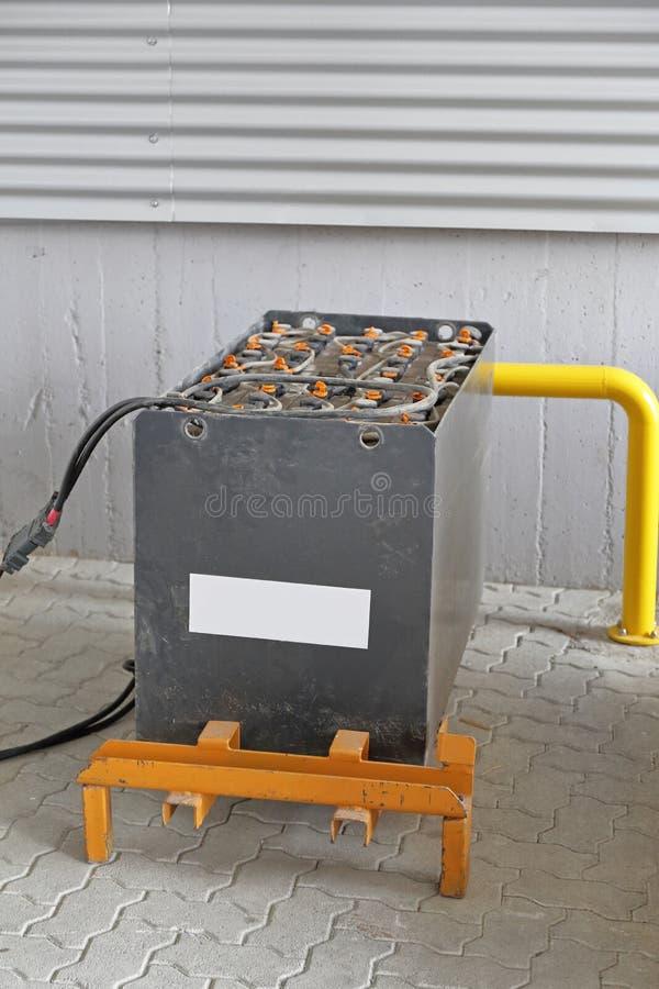 电池铲车 免版税库存图片