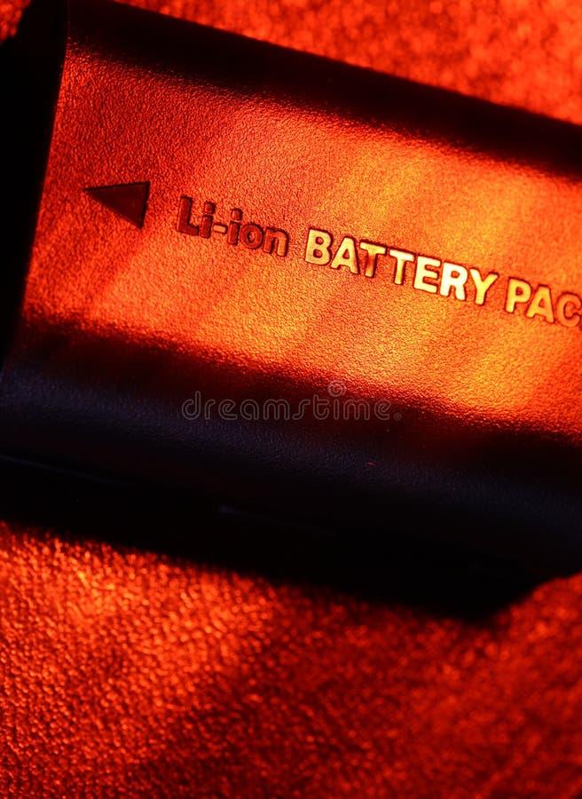 电池组装 库存图片