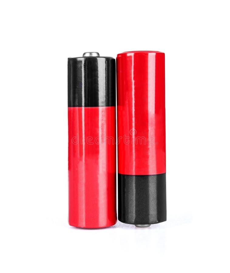 电池aa碱性镉化学制品三 免版税库存照片