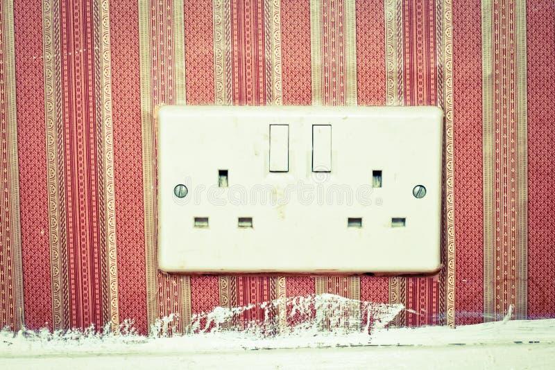 电源插座 库存图片