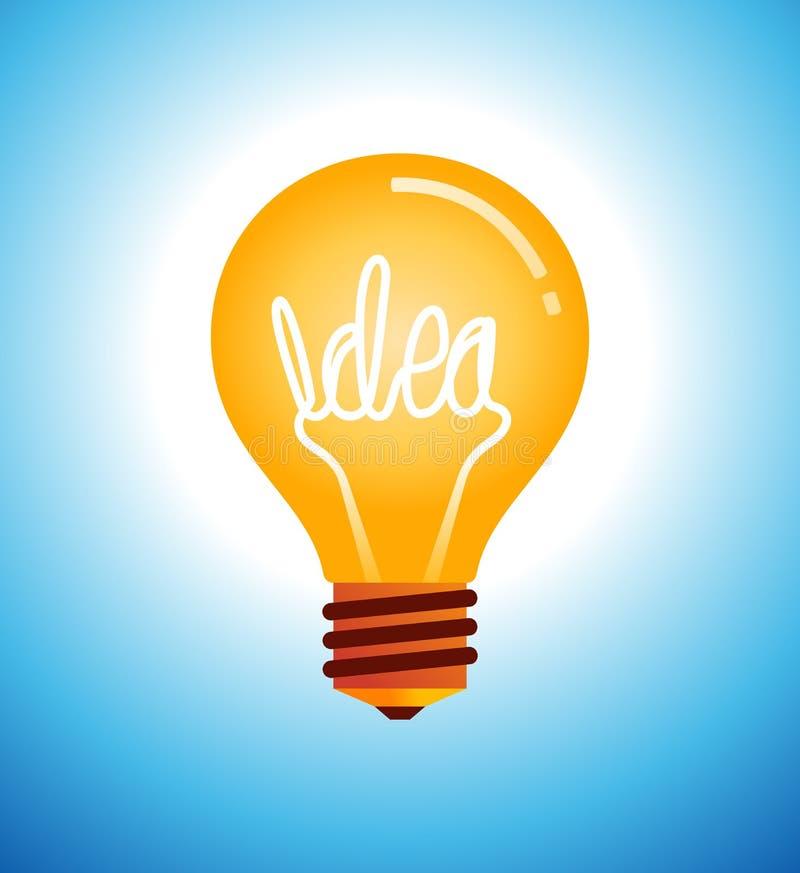 电灯泡传染媒介例证 皇族释放例证