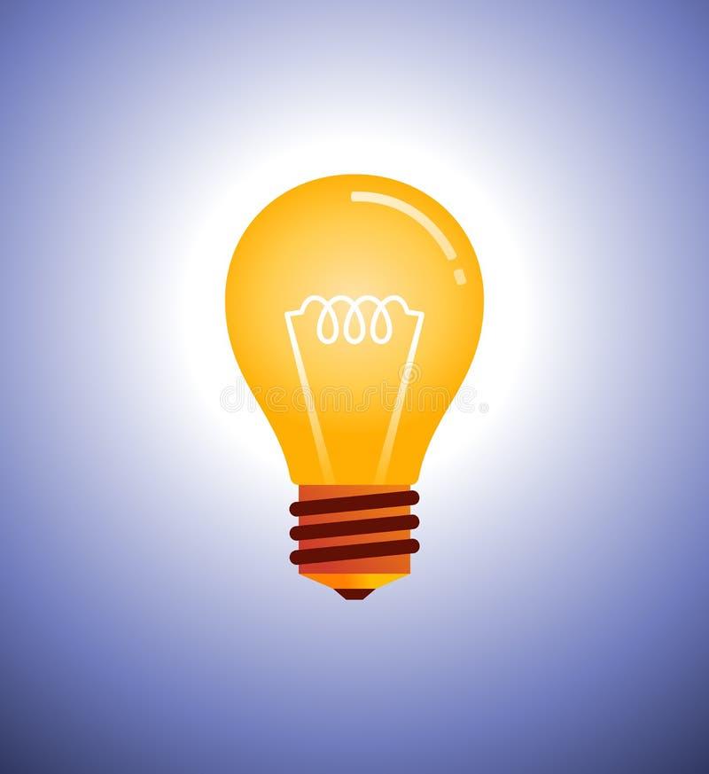 电灯泡传染媒介例证 向量例证
