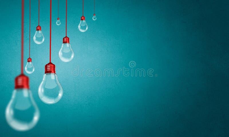 电灯泡停止 库存图片