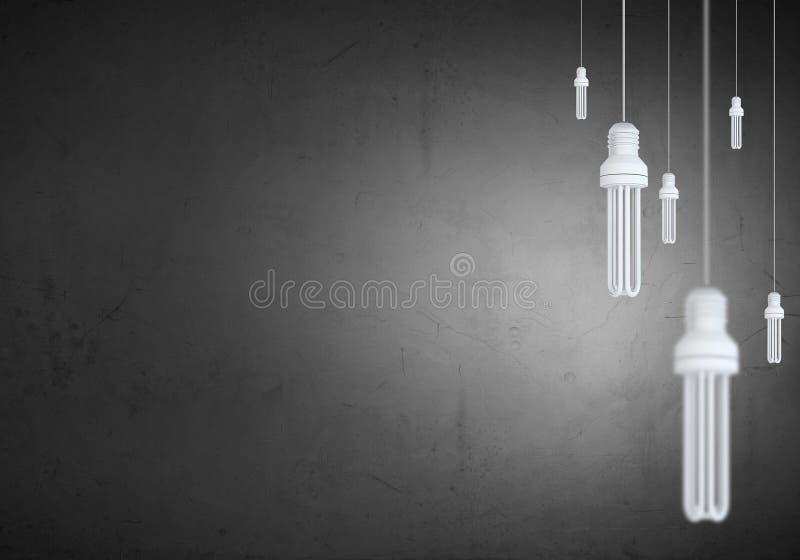 电灯泡停止 向量例证