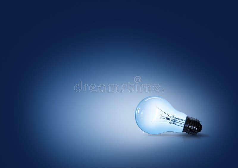 电灯泡光 免版税库存图片