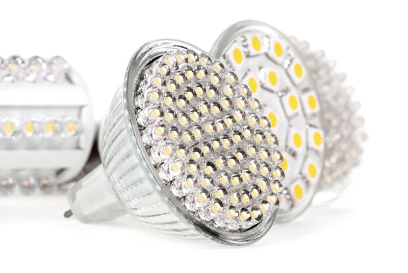 电灯泡导致轻最新 库存图片