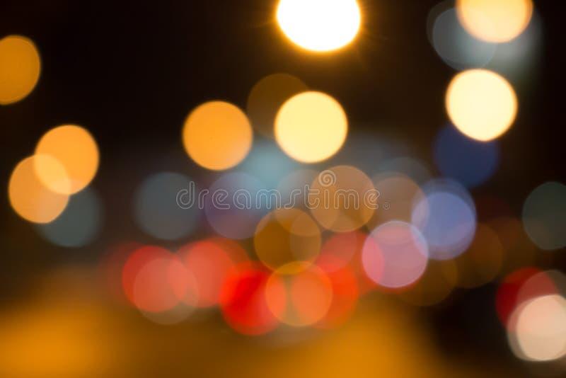 电灯泡很多颜色 库存图片