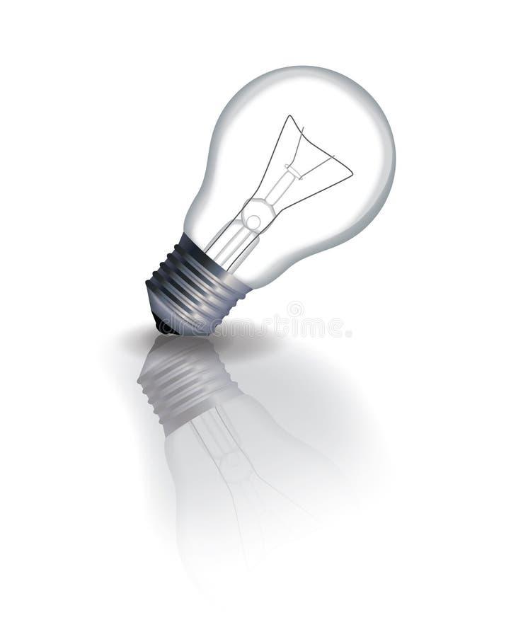 电灯泡概念想法例证光向量 图库摄影
