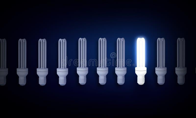 电灯泡概念想法例证光向量 皇族释放例证