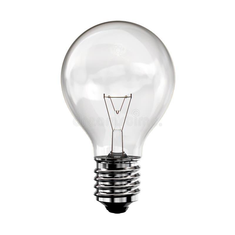 电灯泡概念想法 向量例证