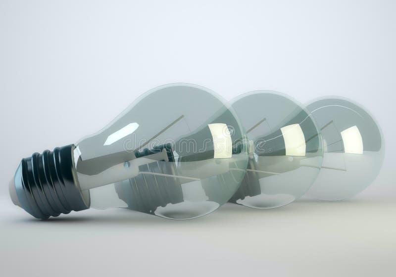 电灯泡灯 免版税库存图片