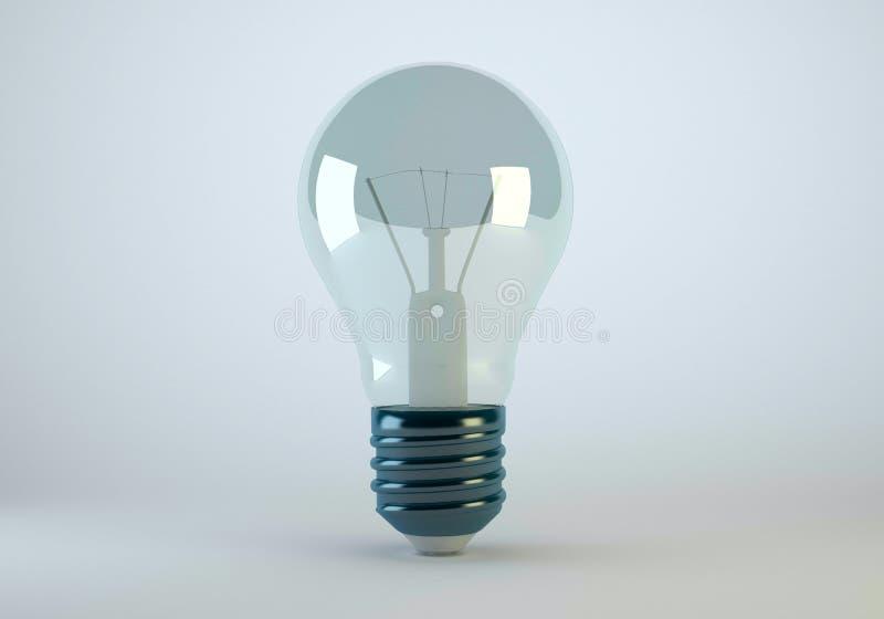 电灯泡灯 免版税图库摄影