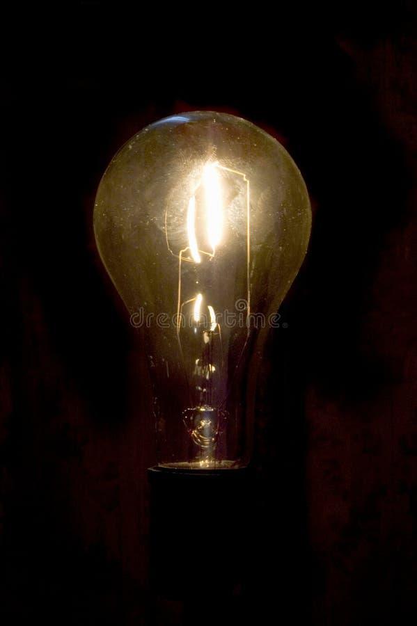 电灯泡白色 免版税库存图片