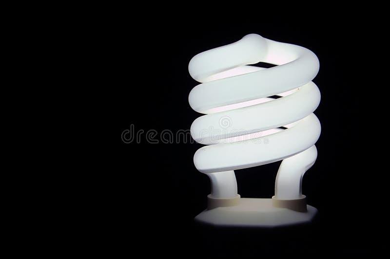 电灯泡紧凑荧光灯 库存照片