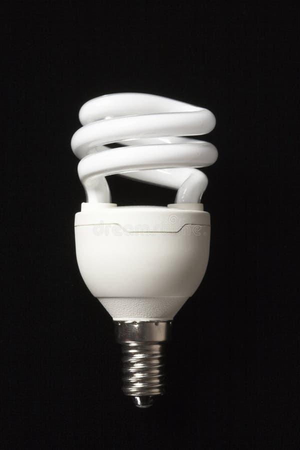 电灯泡能源光救星 免版税库存图片