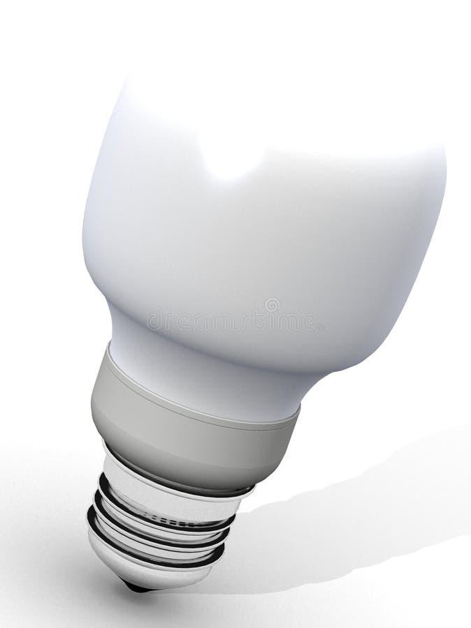 电灯泡能源光救星 皇族释放例证