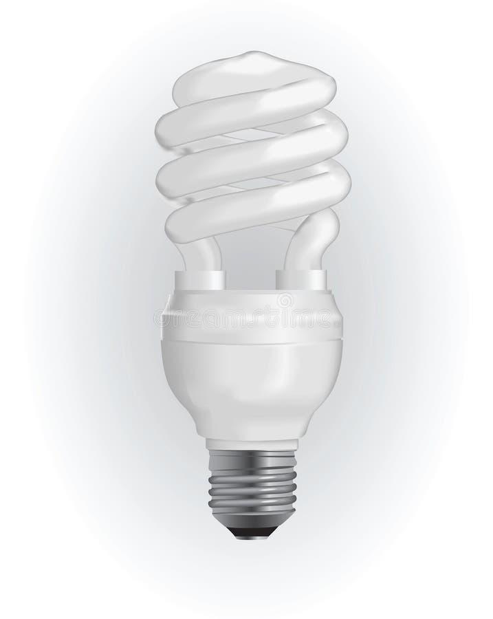 电灯泡能源光节省额 向量例证