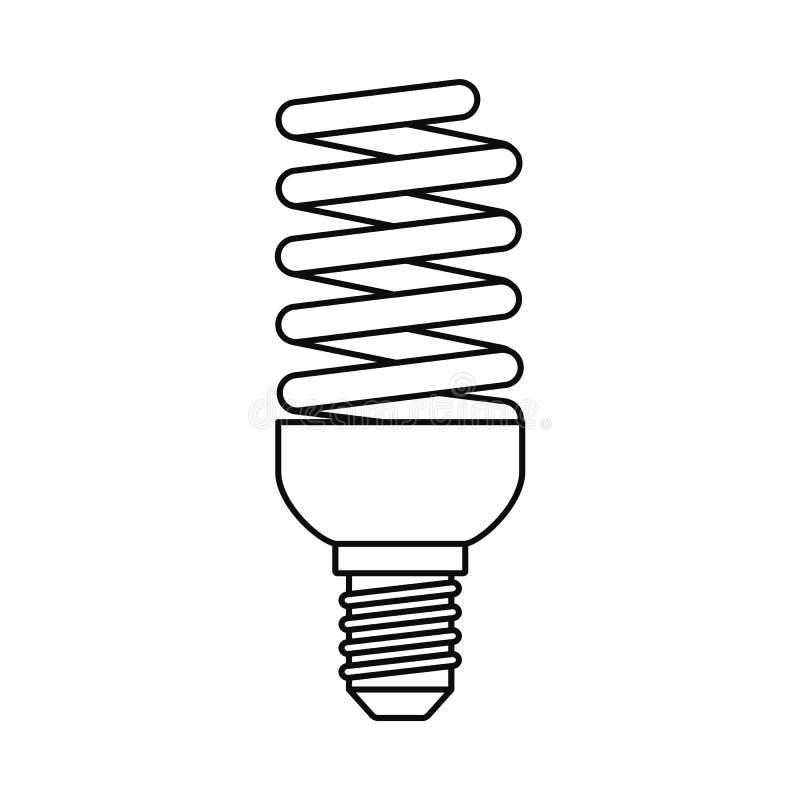 电灯泡节能象,概述样式 皇族释放例证