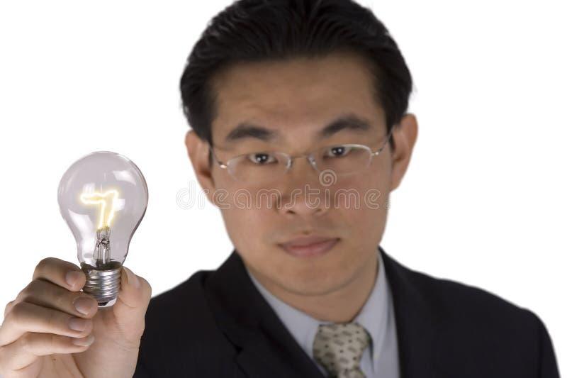 电灯泡藏品 免版税图库摄影