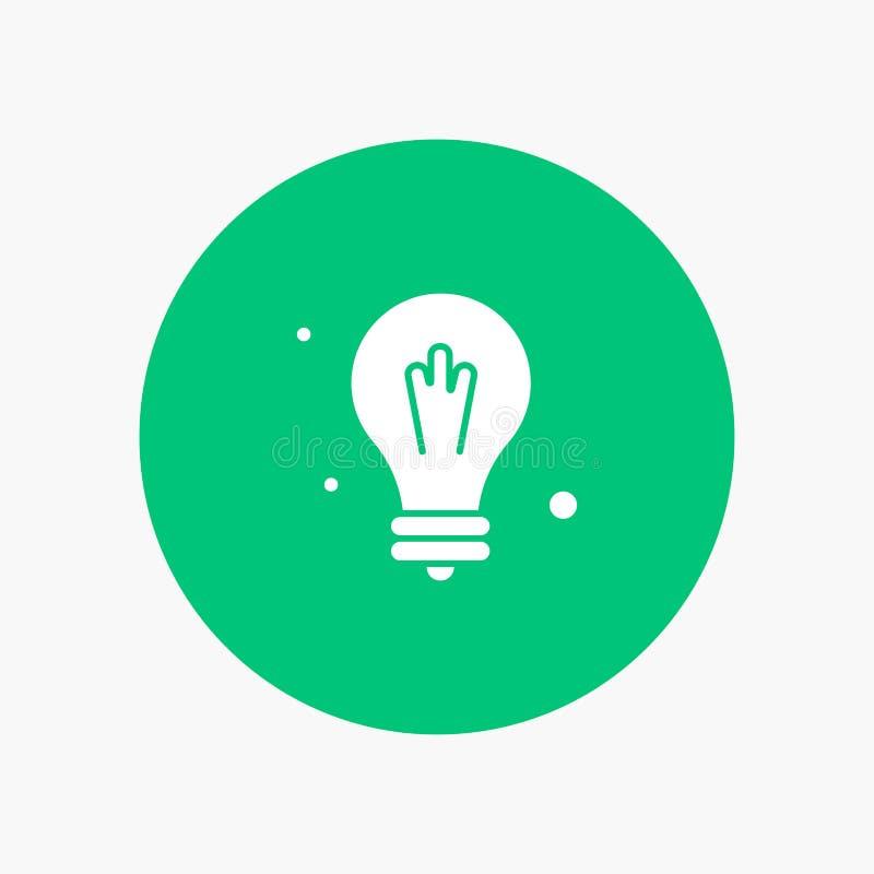 电灯泡,想法,科学 库存例证