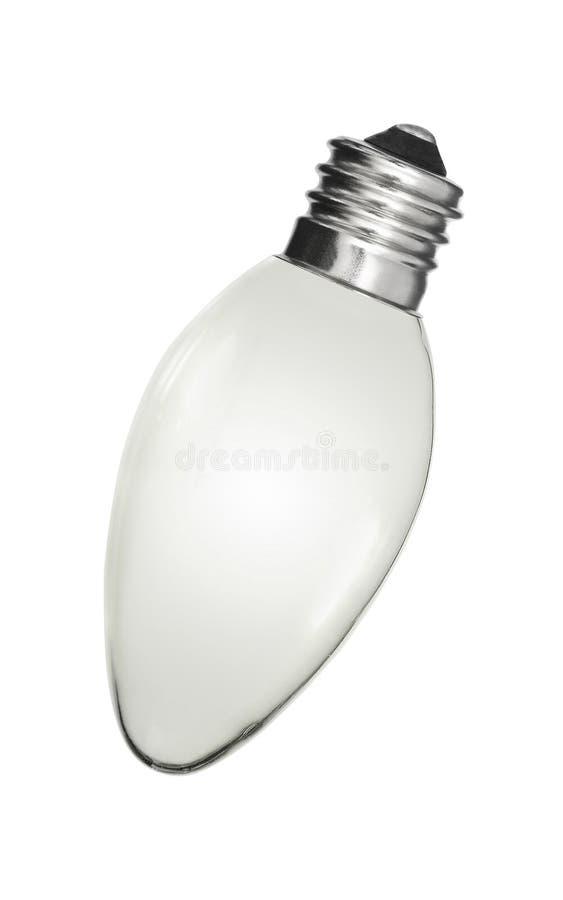 电灯泡,被隔绝 图库摄影
