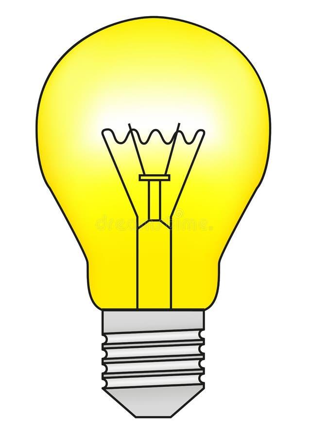 电灯泡 库存例证