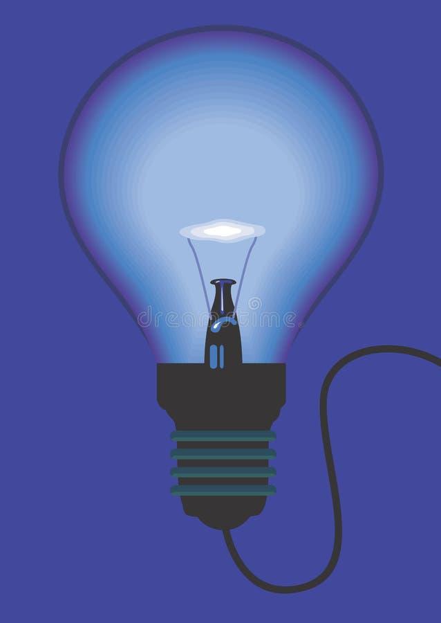 电灯泡 皇族释放例证