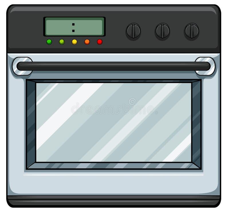 电烤箱 库存例证