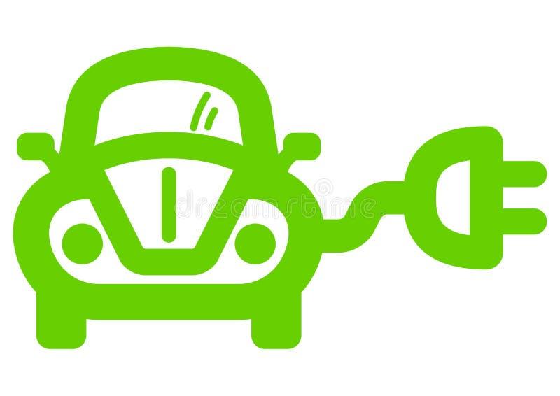 电的汽车 向量例证