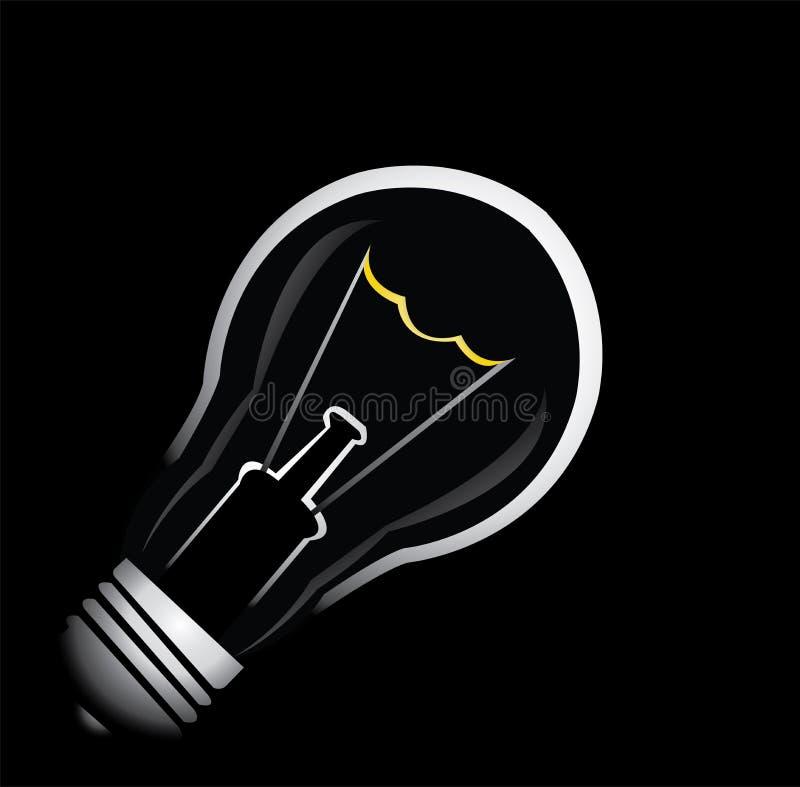 电的电灯泡 免版税库存图片