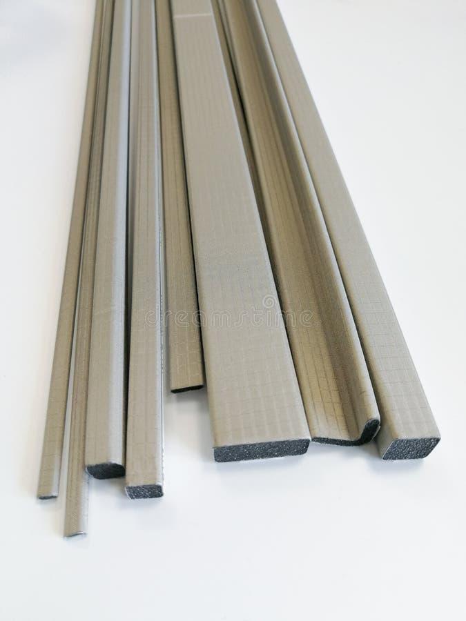电磁式放射保护的导电性保护的垫圈 库存图片