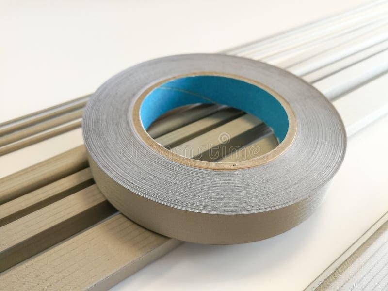 电磁式放射保护的导电性保护的垫圈 库存照片