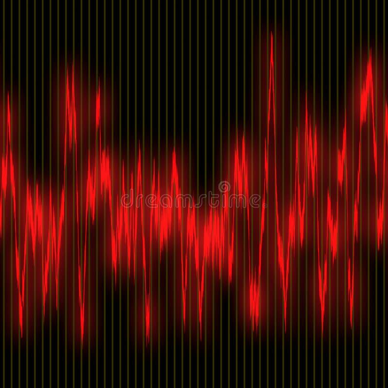 电磁波 库存例证
