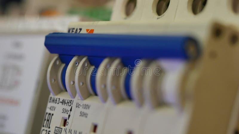 电立场 电子安装 特写镜头 免版税图库摄影