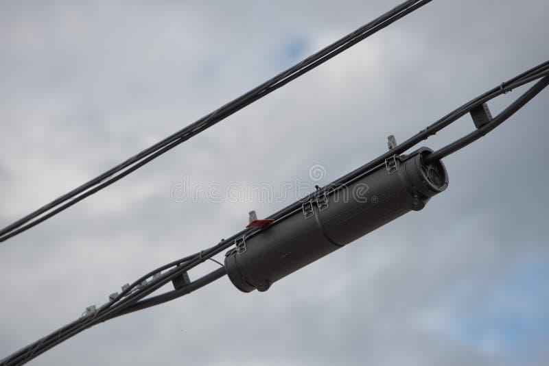 电线连接器 库存照片