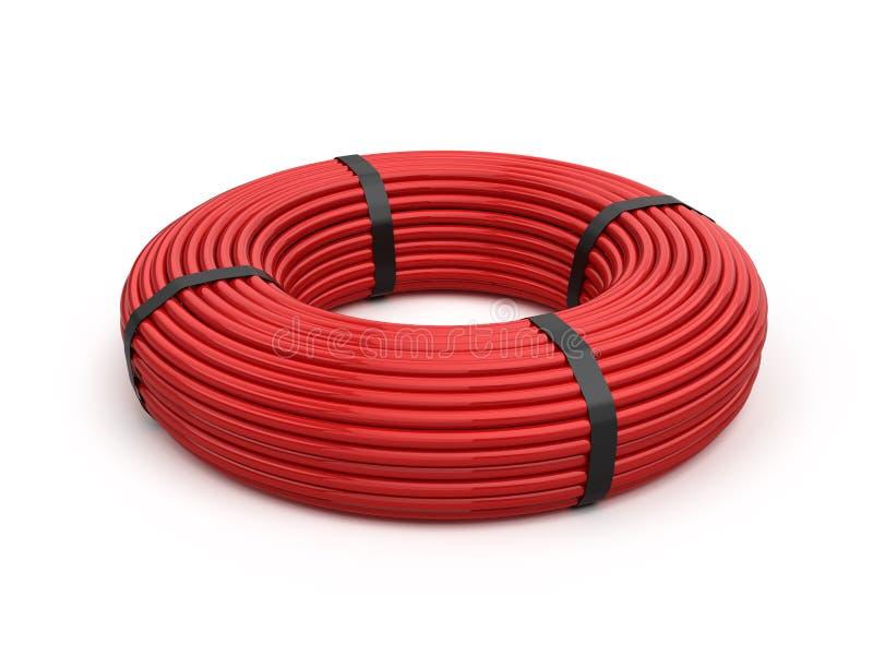 电缆丝球 向量例证