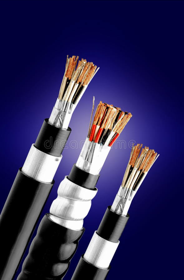 电缆仪器 库存图片