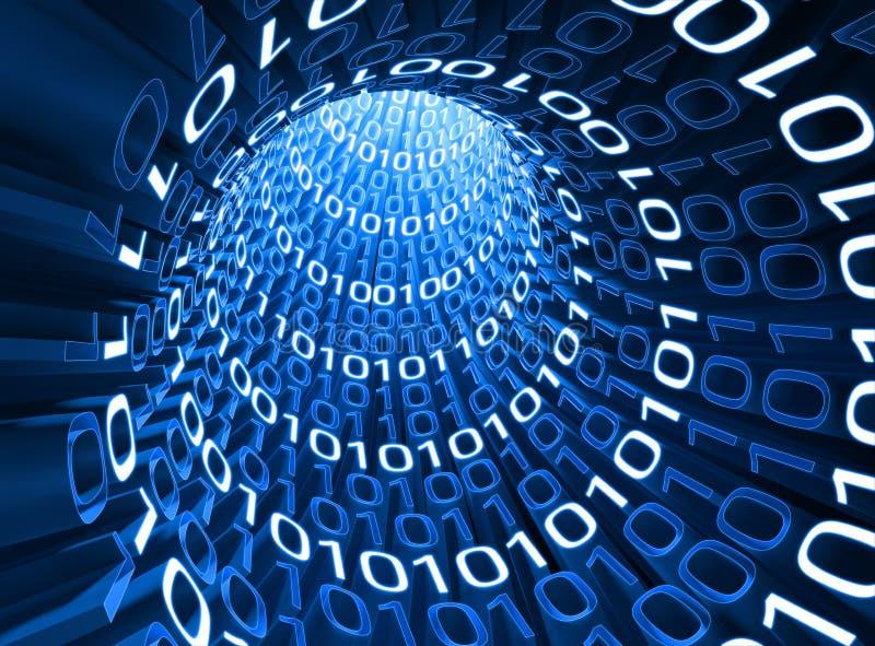 电缆信息 向量例证