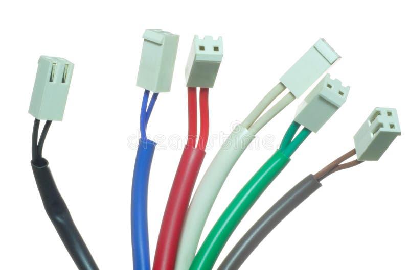 电缆插件 免版税库存照片