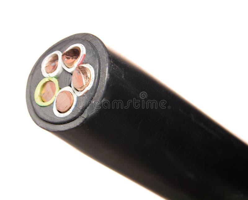 电缆次幂 库存图片