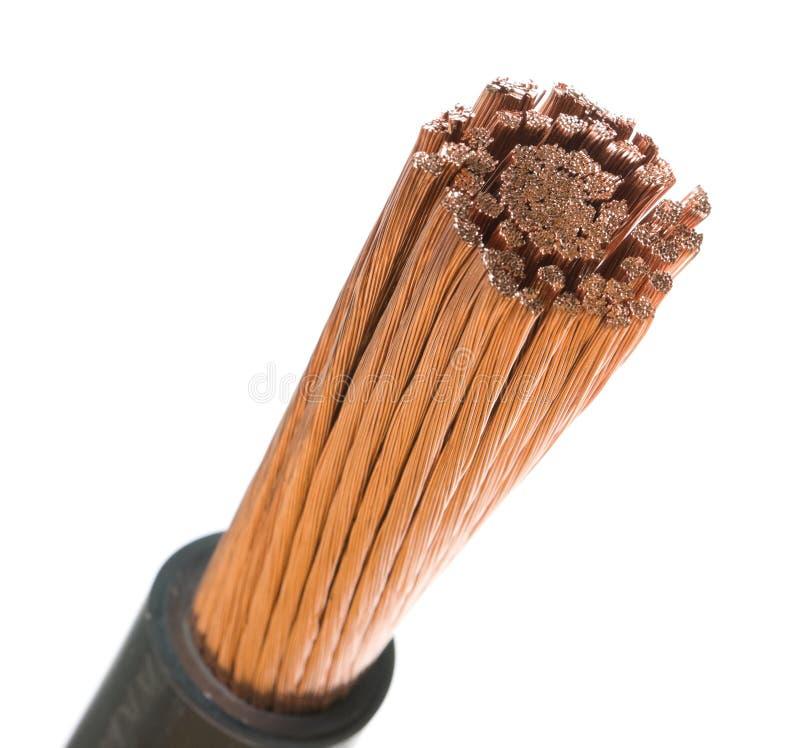 电缆次幂 免版税库存照片